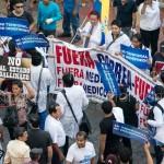 Protestas en guayaquil contra gobierno