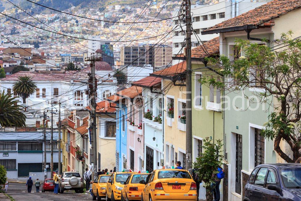 Barrios tradicionales de Quito / Quito Multicolor Stockipic
